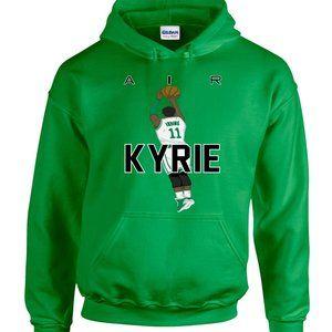 Kyrie Irving Boston Celtics ADULT 2XL HOODIE